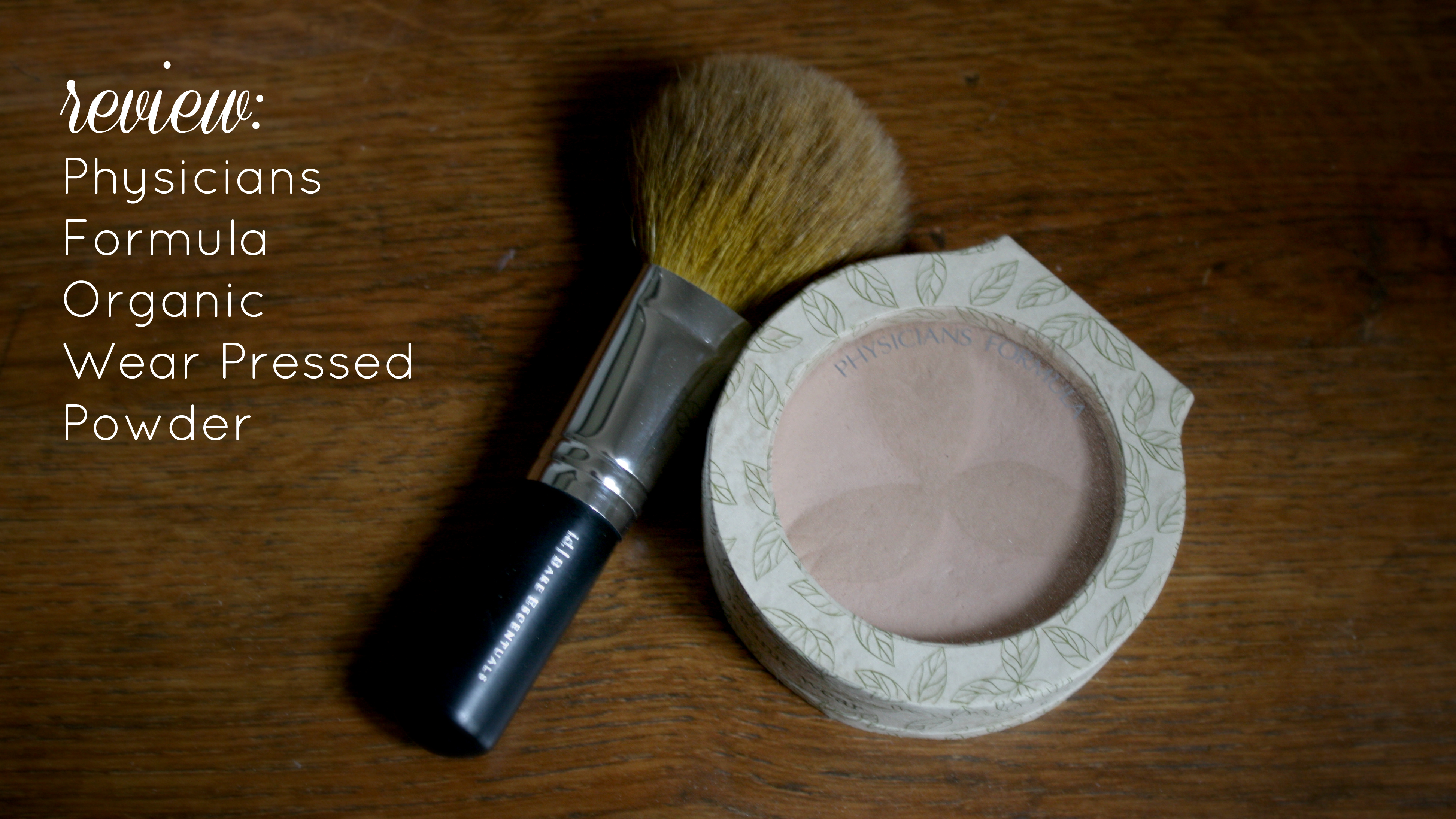 organic skincare: organic wear pressed powder - Style Wise ...
