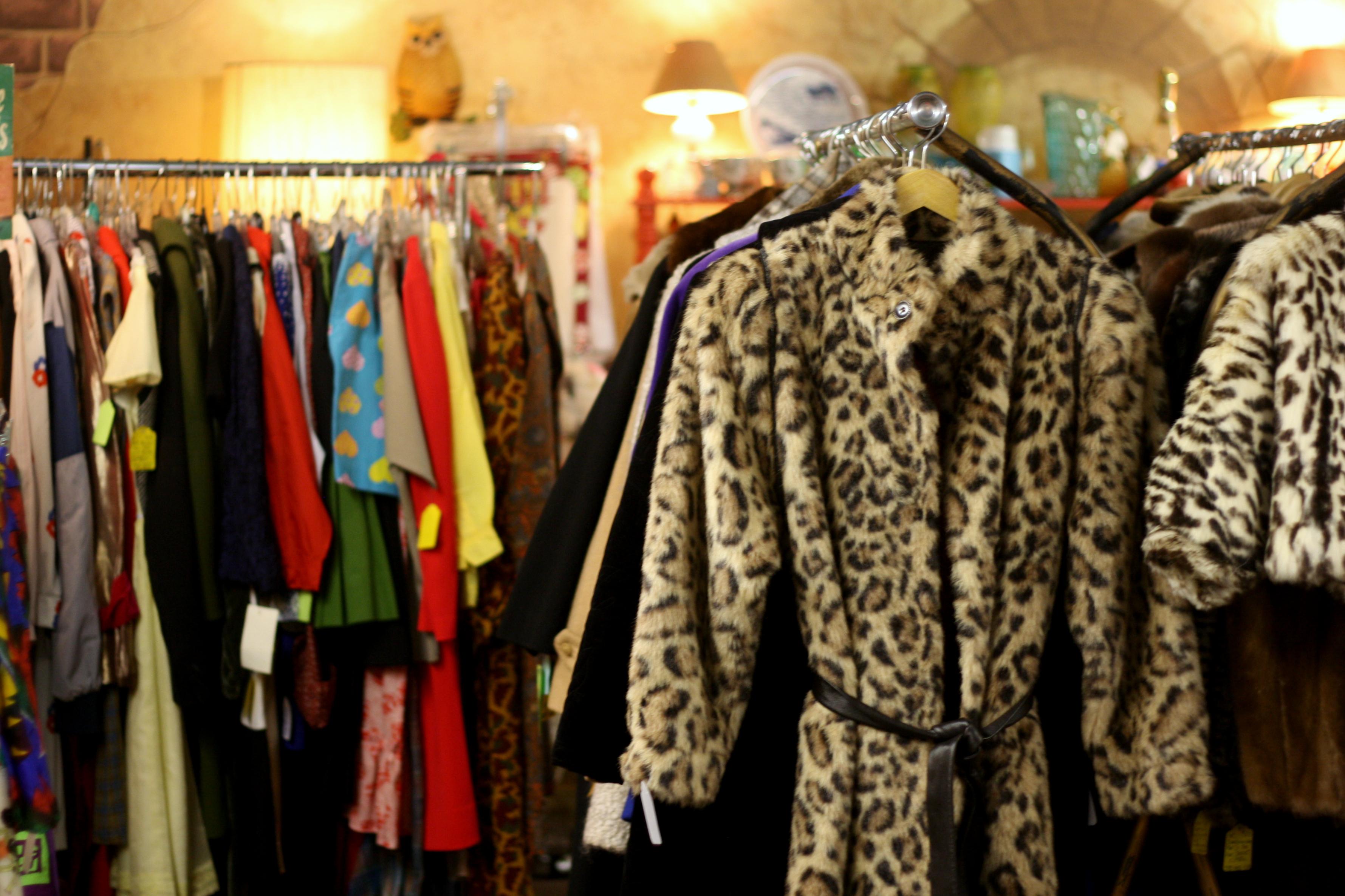 vintage leopard coat