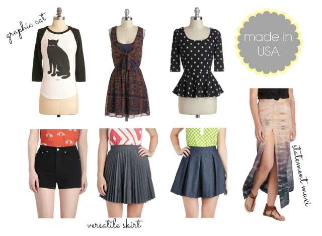 modcloth made in usa