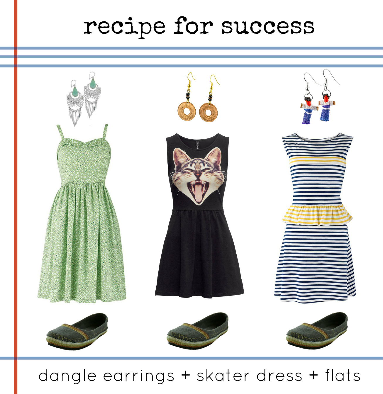 outfit ideas fair trade skater dress