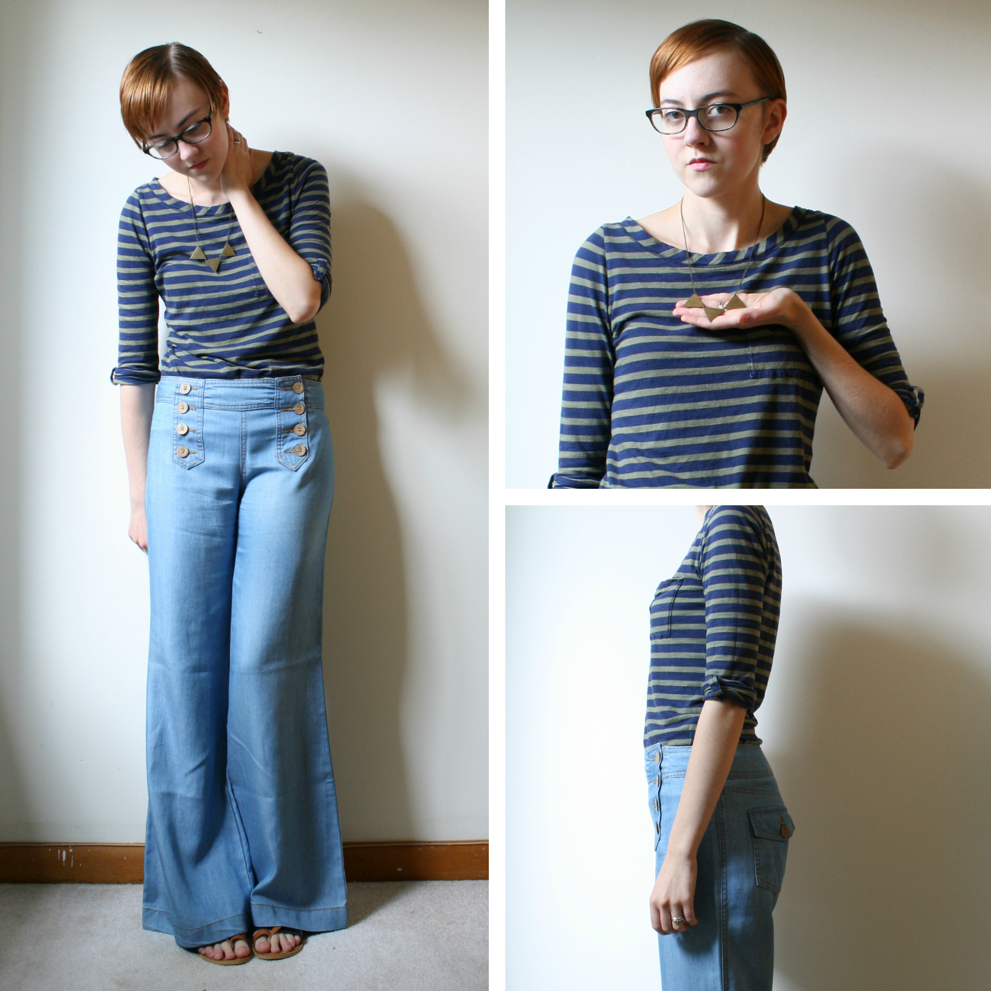 wide leg pants outfit