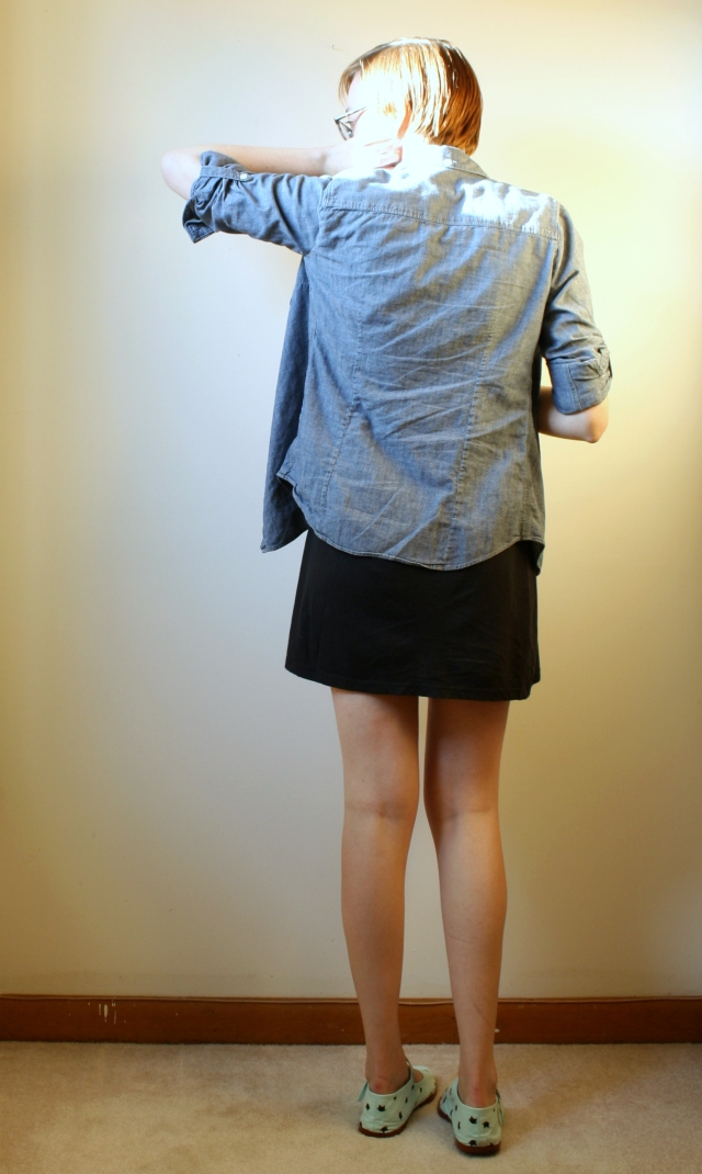 tomboy chambray shirt dress wisestyle.wordpress.com
