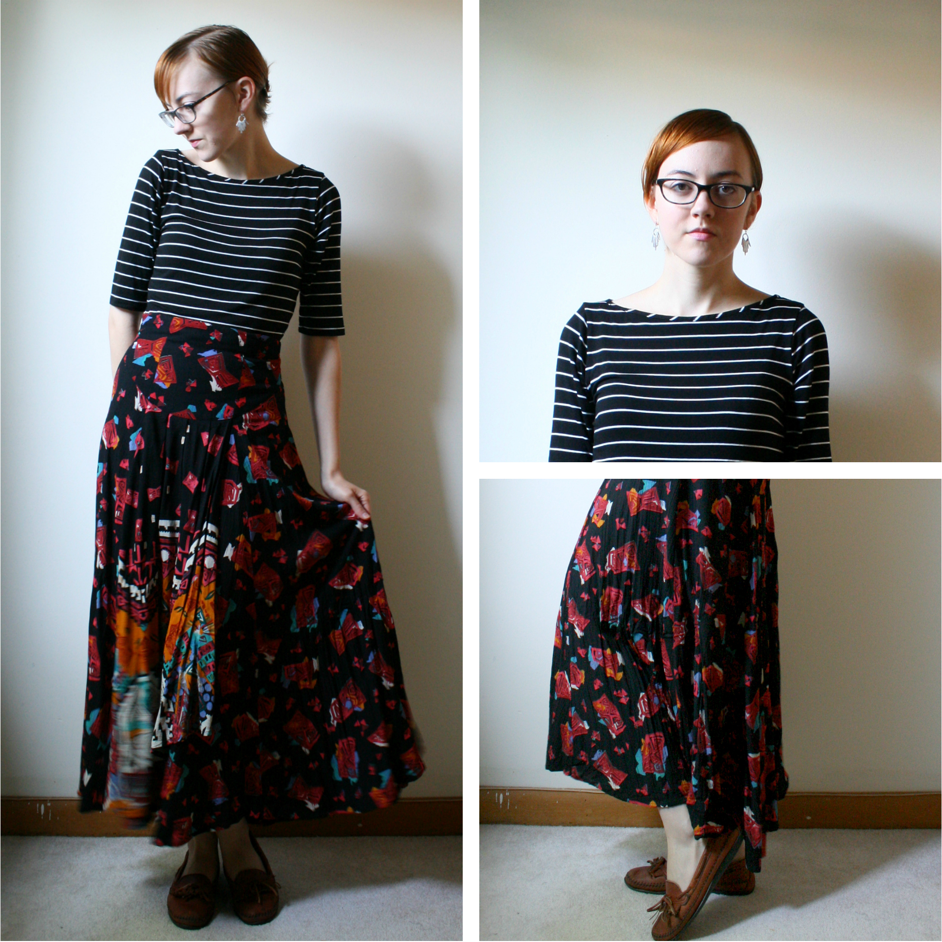 personal style maxi skirt