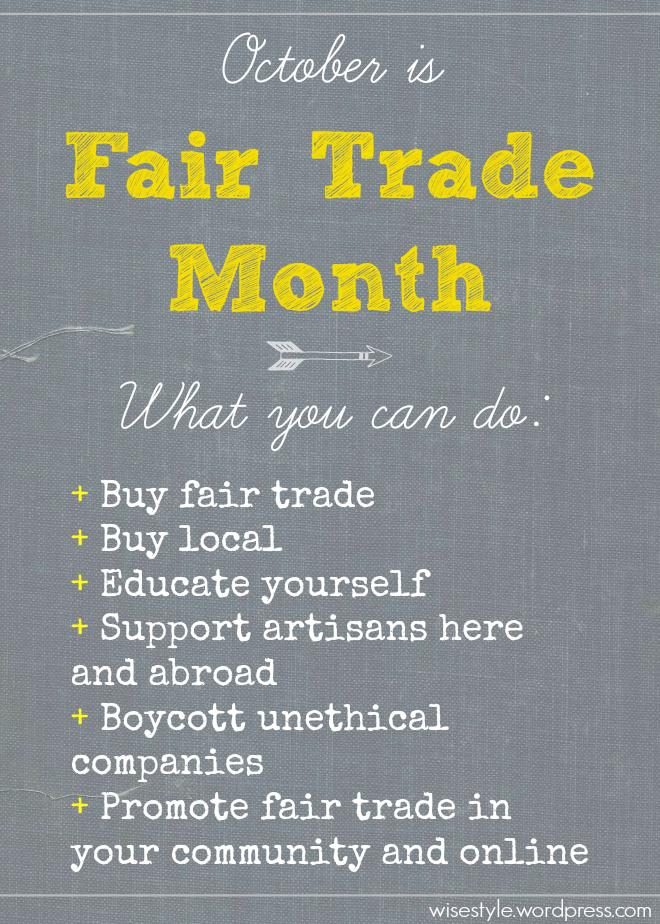 fair trade month graphic