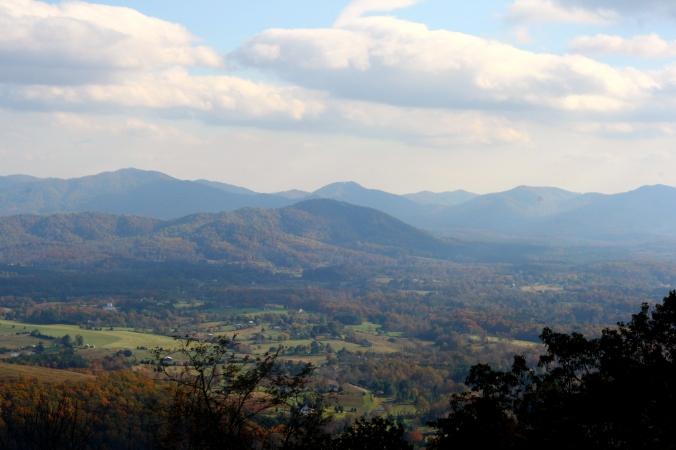 blue ridge mountain lookout