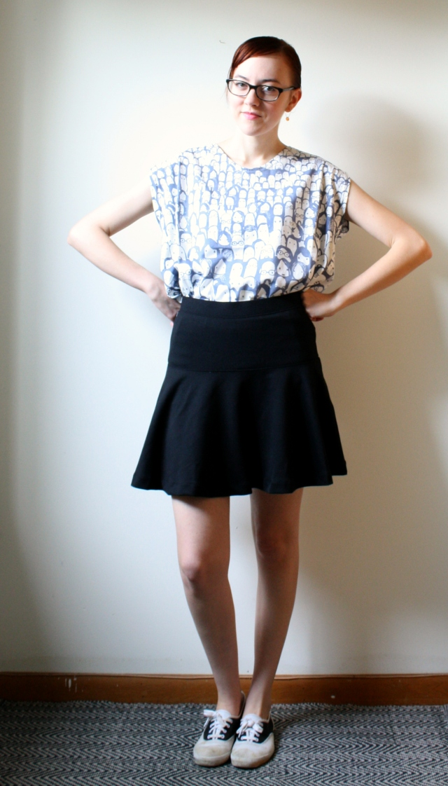 personal style fit and flair skirt