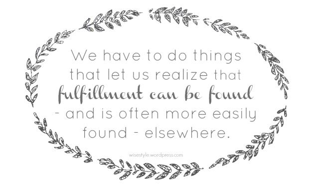 fulfillment quote art