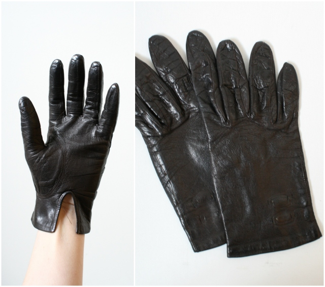 1960s driving gloves
