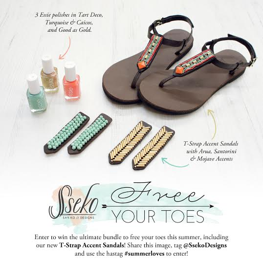 9a4d3ea6906bd You can enter to win a pair of Sseko Designs  new t-strap sandals on  instagram. Just click on the contest image to be redirected. It ends soon