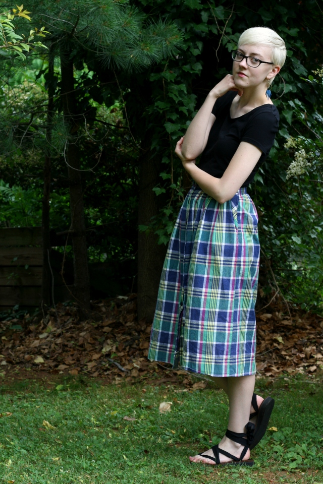 summer outfit, madras, stylewiseguide.com