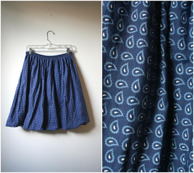vintage bubble skirt, platinumandrust.com