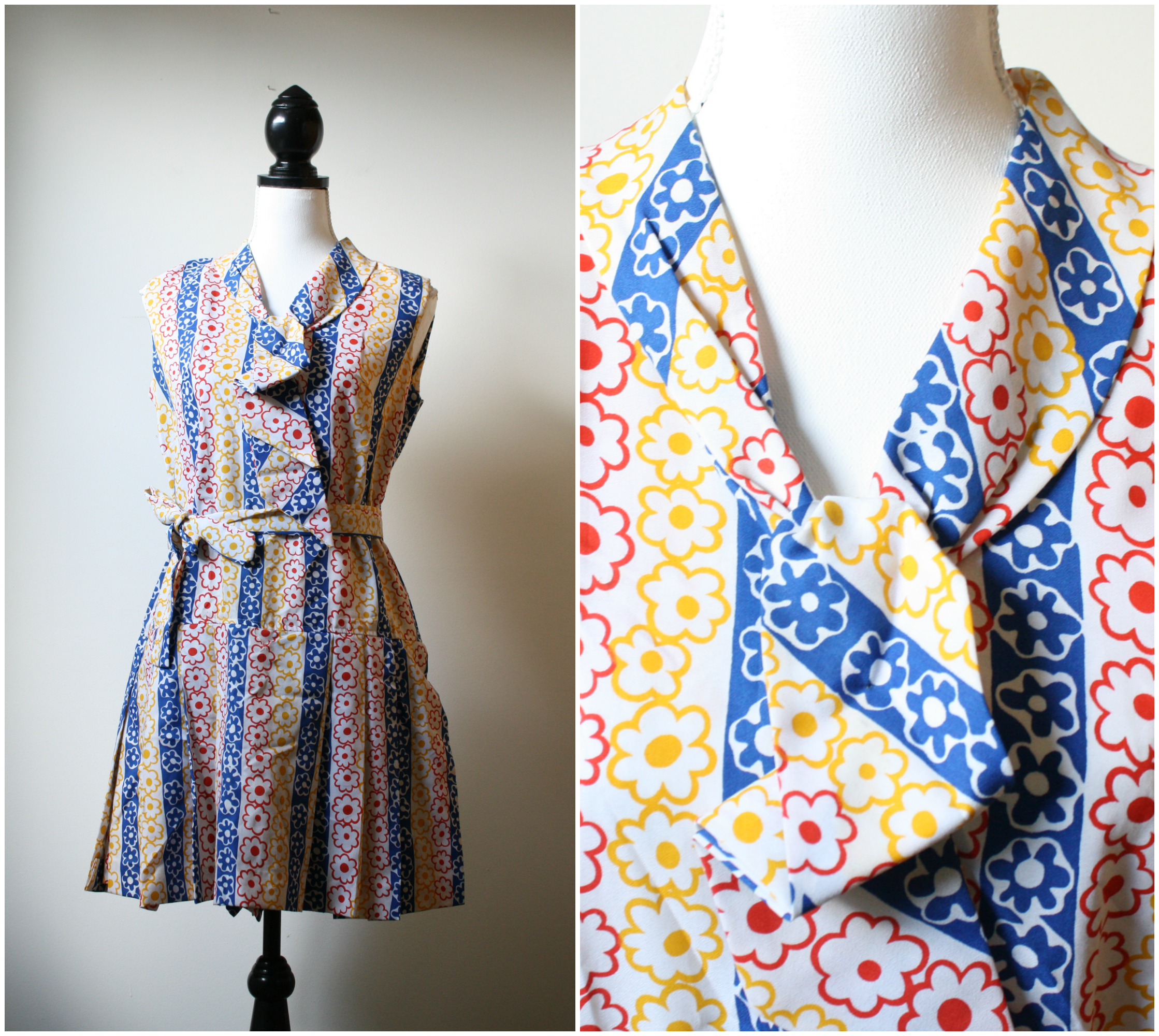 vintage 1960s mod dress platinumandrust.com
