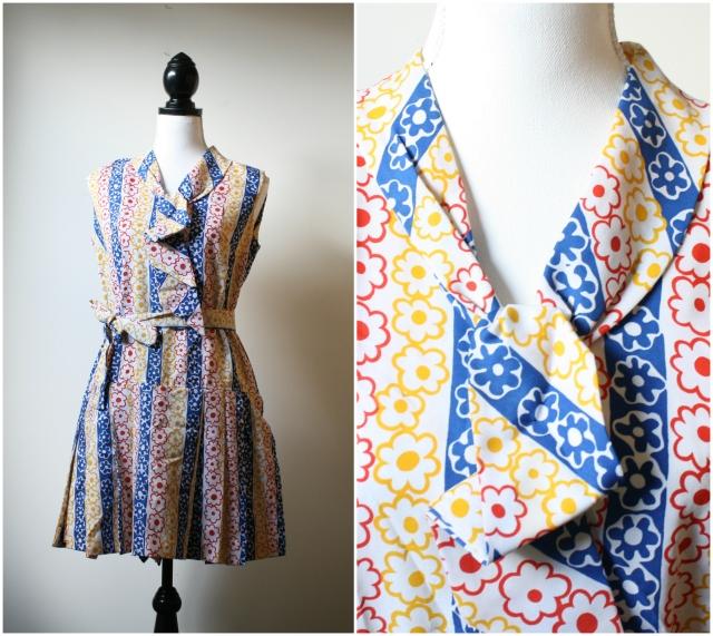 vintage 1960s mod dress platinumandrust.com