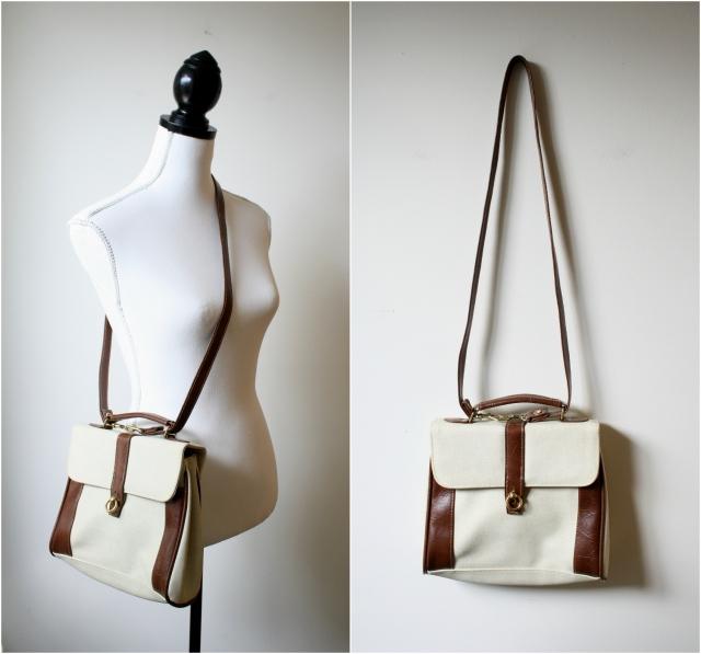 vintage handbag satchel