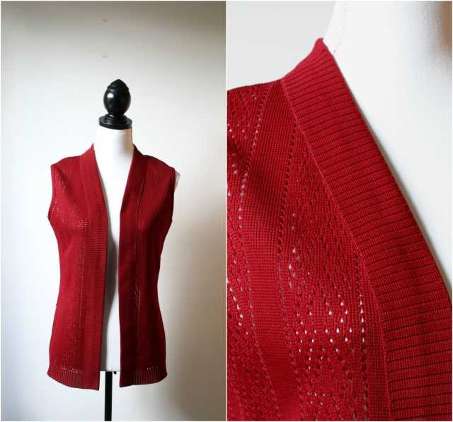 vintage vest