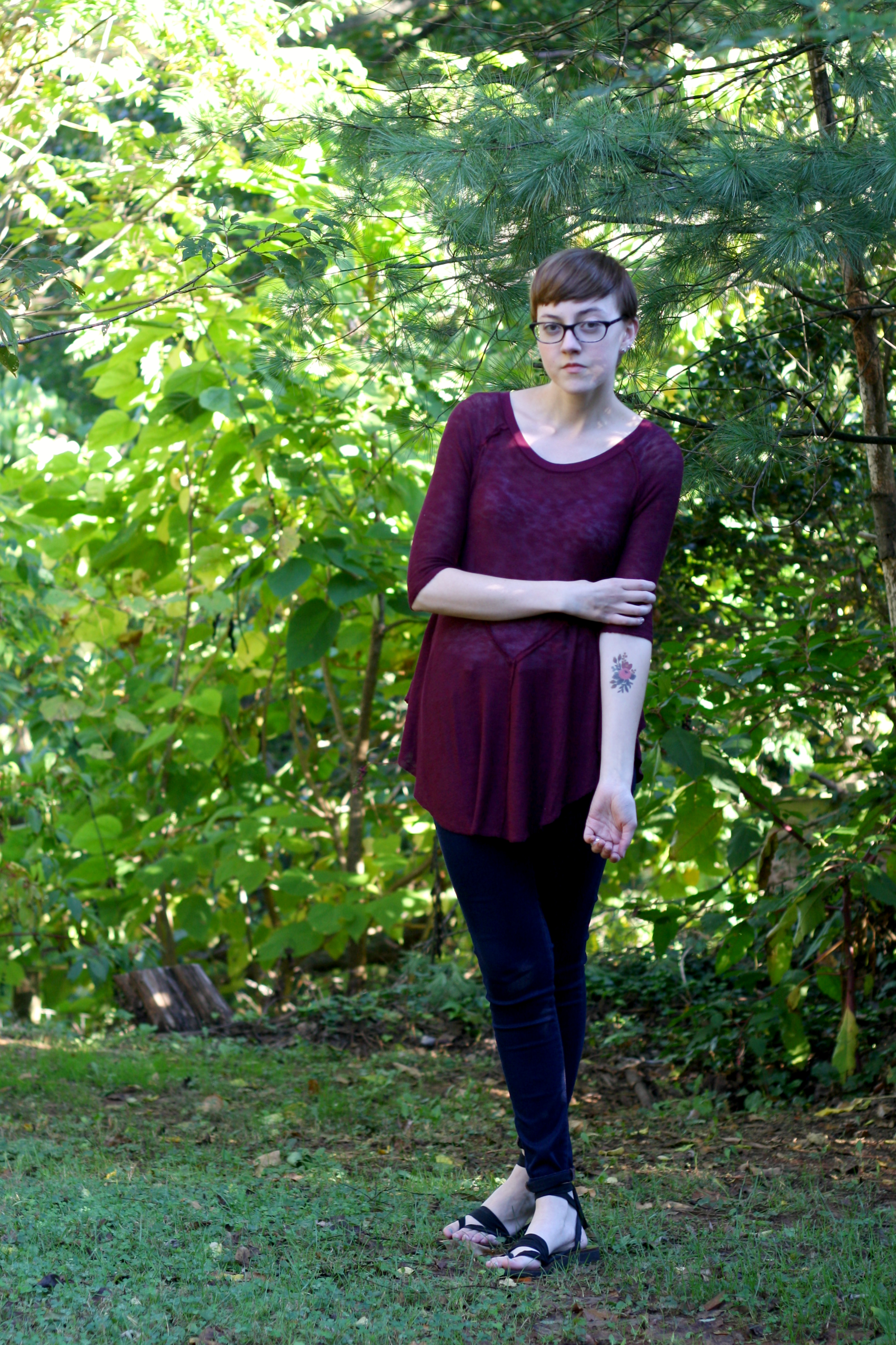 tattly tattoo outfit, stylewiseguide.com