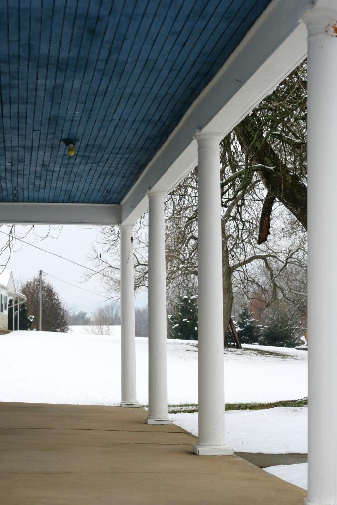 haint blue roof